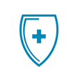 Healthcare Shield Icon
